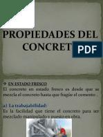 propiedades del concreto