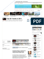 Top 20 Trends in 2011 - 2011 Consumer Trends Forecast by Trend Hunter (THTV)