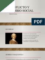 Conflicto y cambio social S3
