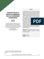CONSTRUCCIÓN DE UN TRÍPODE HOLOGERENCIAL