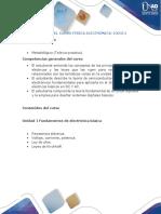 Presentación del curso Física electrónica