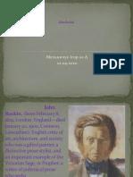 Presentetion about John Raskin