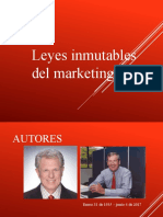 leyes inmutables del marketing