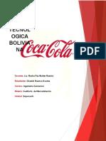 auditoria de mercadotecnia - Coca Cola