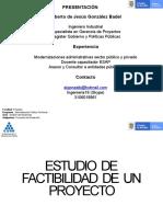 Factibilidad de los proyectos (1)