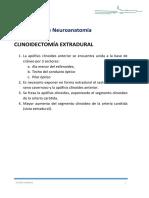 CLINOIDECTOMia EXTRADURAL