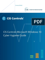 CIS Controls Microsoft Windows 10 Cyber Hygiene Guide.pdf