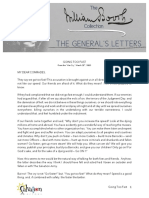 The General's Letters C17 - Going Too Fast