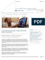 Luz Marina descansó halló restos del hijo en una fosa - El Colombiano