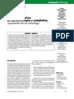 Conceptos básicos de epidemiología y estadística