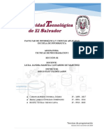 AVANCE-Proyecto Tecnicas de Programacion
