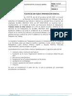 Acta de Fundacion Del Sindicato