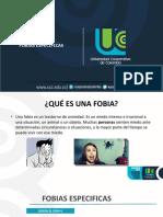 FOBIAS ESPECIFICAS-PSICOPATOLOGIA
