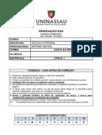 2015_2B_1 - CÁLCULO INTEGRAL