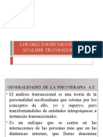 LOS DIEZ INSTRUMENTOS DEL ANALISIS TRANSACCIONAL