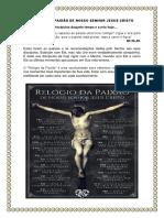RELÓGIO DA PAIXÃO DE NOSSO SENHOR JESUS CRISTO