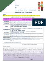 GUIA DE ACTIVIDADES SEMANA DEL 23 AL 27 DE MARZO - 4TO GRADO (azul)