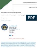 Nye County Corona Update 5-19-2020