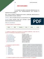 Sesion 10 Diccionario         miercoles 13 ma