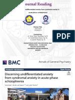 Journal Reading Psikiatri