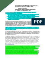 Caracterización de la situación político – económica –socio cultural  de la Argentina en el período 2001 – 2010