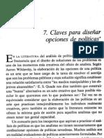 7 May Claves diseño opciones de Políticas