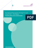 National Procurement Strategy