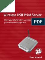 Belkin Print Server Manual