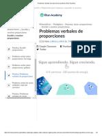 Problemas verbales de proporciones (practica) _ Khan Academy