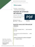 Intuición de la fórmula del volumen (artículo) _ Khan Academy