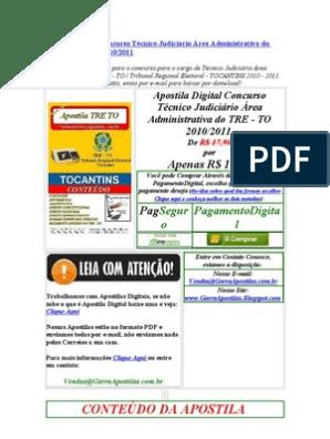PUBLICA BAIXAR GRATIS APOSTILA RS DEFENSORIA