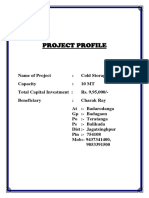 Project Report on Cold Storage
