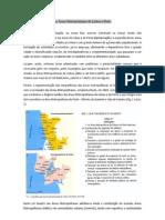As Áreas Metropolitanas de Lisboa e Porto
