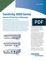 Contivity 1000 Series
