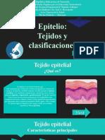 EPITELIO - Tejidos y Clasificaciones