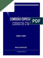 Apresentacao01 CONSECTI_CONFAP - Sergio
