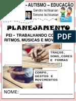 Planeer Simone Sons, Cores e Formas Na Música e No Movimento 1a 2020