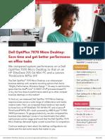 Dell OptiPlex 7070 Micro Desktop