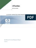 US Digital Marketing Performance Report Q3 2010 1
