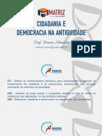 AULA 01 - CIDADANIA E DEMOCRACIA NA ANTIGUIDADE