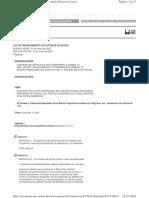 Ley 25600 financiamiento partidos
