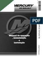 Manual Do Proprietario Mercury 150, 150 Pro XS, 150 4-Stroke (8m0147264) 2018