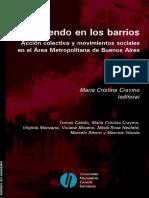 CRAVINO, María Cristina - Resistiendo en los barrios. Acción colectiva y movimientos sociales en el Área Metropolitana de Buenos Aires.