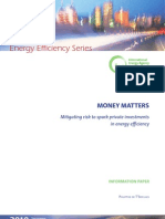 1009 IEA Mitigating Risk to Spark Private Investments in Energy Efficiency