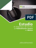 Estudio de Diagnóstico Radiodifusión Sonora