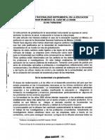 Globalizacion y recionalidad instrumental en la educacion superior en mexico