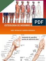 1. OSTEOLOGIA MIEMBRO SUPERIOR