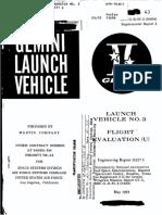 Launch Vehicle No. 3 Flight Evaluation