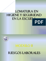Diplomatura en Higiene y Seguridad en la Escuala -AMET 2018 - Modulo II