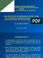 UNA PROPUESTA PARA EL DESARROLLO DE TACNA - Dr. Luis Olivero.ppt